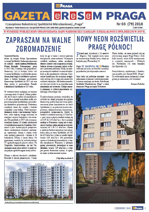 Gazeta nr 3 (79) Czerwiec 2018