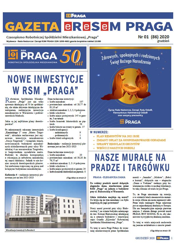 Gazeta nr 1 (86) Grudzień 2020